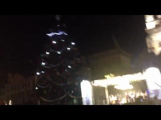 Охренительная елка в Праге